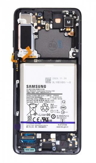 LCD   dotyková deska pro Samsung Galaxy S21 , phantom black