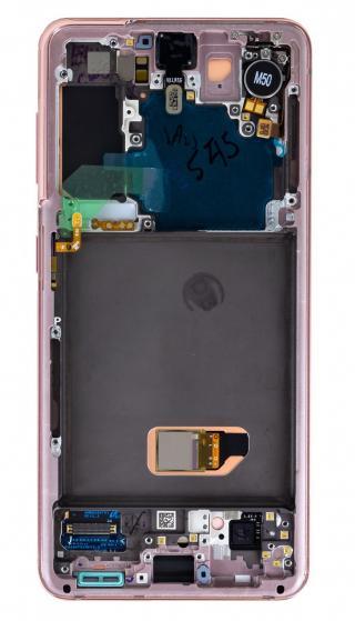 LCD   dotyková deska pro Samsung Galaxy S21, phantom pink