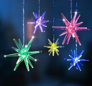 Led hvězda xmas