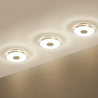 LED stropní svítidlo - 3 barvy Barva: bílá