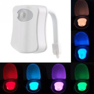 LED světlo na záchodovou mísu s detektorem pohybu