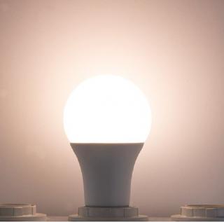 LED žárovka s úsporou energie - 2 barvy Barva: teplá bílá, Příkon: 9W