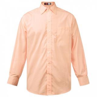 Lee Cooper Long Sleeve Pocket Shirt Mens pánské Peach | Other S