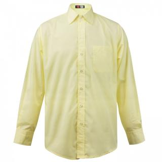 Lee Cooper Long Sleeve Pocket Shirt Mens pánské Yellow | Other S