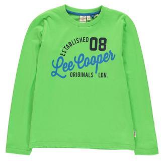 Lee Cooper Long Sleeve T Shirt Junior Boys pánské Other S