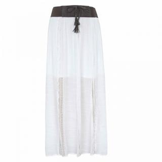 Lee Cooper Maxi Skirt Ladies dámské White | Other XXS