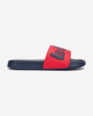 Lee Cooper Pantofle Modrá Červená dámské 41