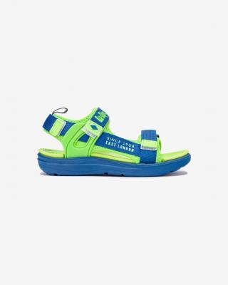 Lee Cooper Sandále dětské Modrá Zelená pánské 35