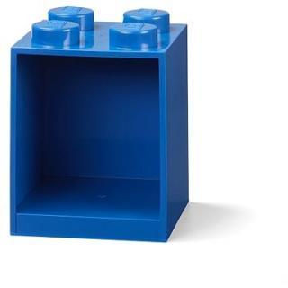 LEGO Brick 4 závěsná police - modrá