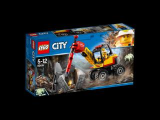 LEGO® City 60185 Důlní drtič kamenů modrá