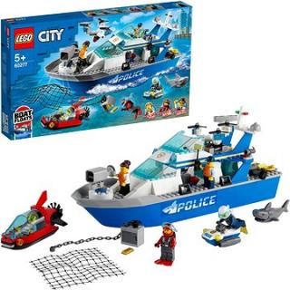 LEGO City 60277 Policejní hlídková loď