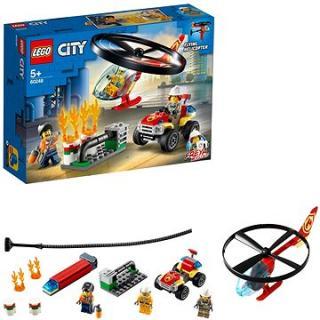LEGO City Fire 60248 Zásah hasičského vrtulníku