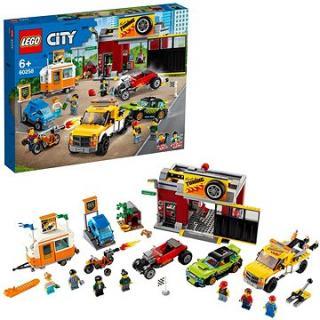 LEGO City Nitro Wheels 60258 Tuningová dílna