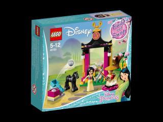 LEGO® Disney Princess 41151 Mulan a její tréninkový den tyrkysová