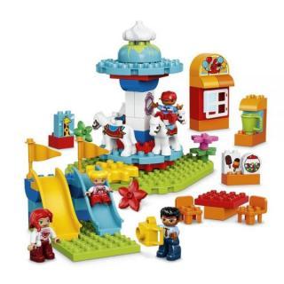 LEGO® DUPLO® 10841 Zábavná rodinná pouť mix barev