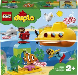LEGO® DUPLO® Dobrodružství v ponorce zelená