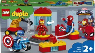 LEGO® DUPLO® Super Heroes 10921 Laboratoř superhrdinů