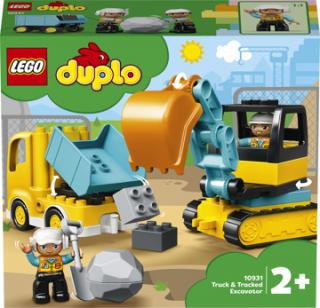 LEGO® DUPLO® Town 10931 Náklaďák a pásový bagr