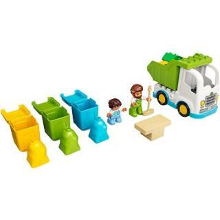 LEGO DUPLO Town 10945 Popelářský vůz a recyklování