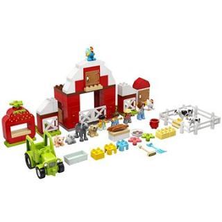LEGO DUPLO Town 10952 Stodola, traktor a zvířátka z farmy
