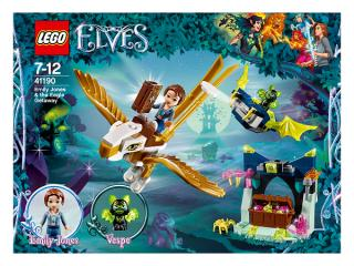 LEGO® ELVES 41190 Emily Jonesová a únik na orlovi modrá