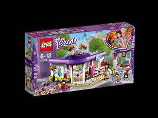 LEGO® Friends 41336 Emma a umělecká kavárna fialová