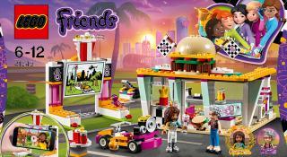 LEGO® Friends Jídelní vůz fialová