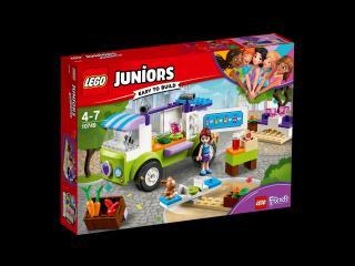 LEGO® Juniors 10749 Mia a trh s biopotravinami červená