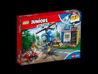 LEGO® Juniors 10751 Policejní honička v horách červená