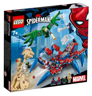 LEGO® Super Heroes 76114 Spider-Manův pavoukolez černá