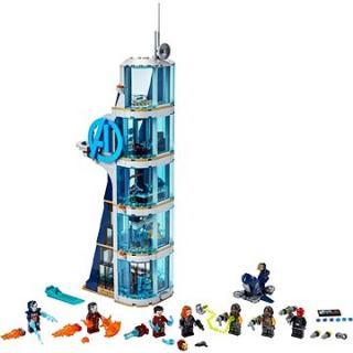 LEGO Super Heroes 76166 Boj ve věži Avengerů