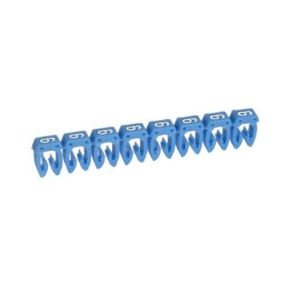 Legrand CAB3 návlečka značící 0,5-1,5mm2 6 modrá 38216