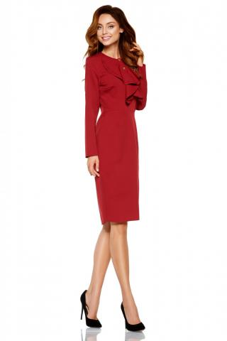 Lemoniade Womans Dress L270 Crimson dámské Red S