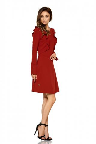 Lemoniade Womans Dress L271 Crimson dámské Red S