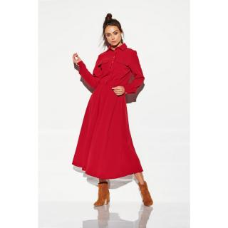 Lemoniade Womans Dress L314 Crimson dámské Red M