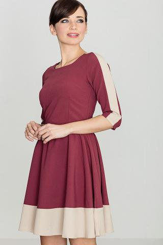 Lenitif Womans Dress K057 Deep dámské Red S