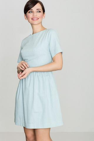 Lenitif Womans Dress K164 Light dámské Blue S