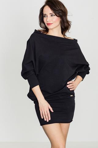 Lenitif Womans Dress K254 dámské Black S