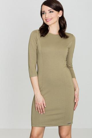 Lenitif Womans Dress K317 Olive dámské Green S