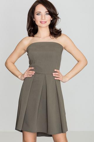 Lenitif Womans Dress K368 Olive dámské Green S