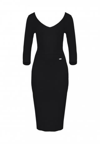 Lenitif Womans Dress K476 dámské Black L