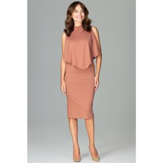 Lenitif Womans Dress K480 dámské Brown XL