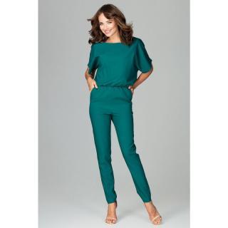 Lenitif Womans Jumpsuit K495 dámské Green M