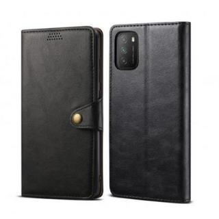 Lenuo Leather flipové pouzdro pro Samsung Galaxy A32 5G, black