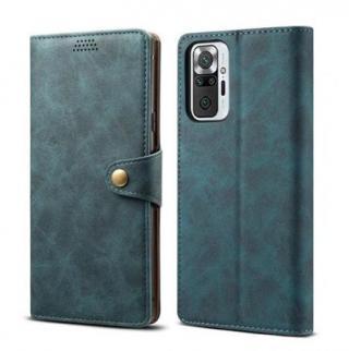 Lenuo Leather flipové pouzdro pro Samsung Galaxy M31s, blue
