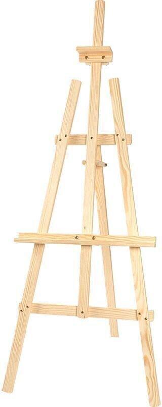 Leonarto Atelier Spruce Wood Easel Isabel Natural