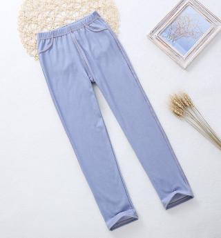 Letní dívčí skinny džíny - 6 barev Barva: světle modrá, Velikost: 3