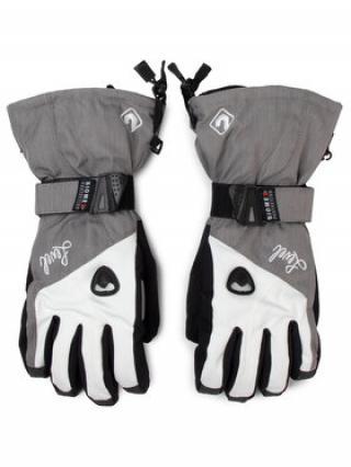 Level Lyžařské rukavice Butterfly W 1041WG08 Šedá 7