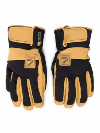 Level Lyžařské rukavice Rover Pk Black 2220UG43 Žlutá pánské 8