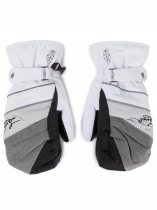 Level Lyžařské rukavice Ultralite W Mitt 3254WM40 Bílá dámské 7